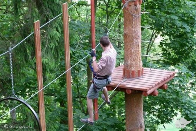 """5 val. pramogos nuotykių parke """"Tarzanija"""""""
